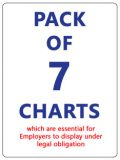 Pack of Seven Charts