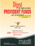 Digest of Employees' Provident Funds Act & Schemes
